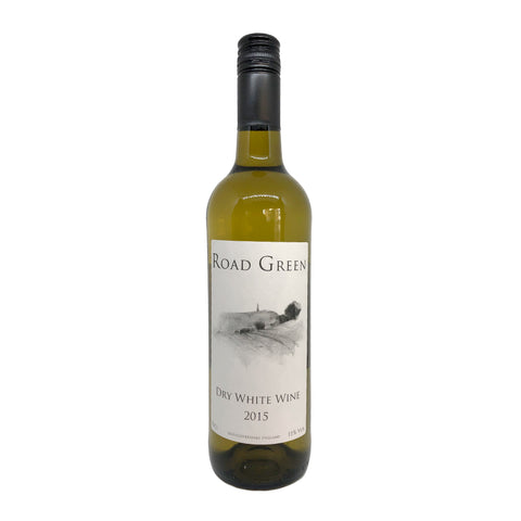 Road Green Dry White Wine 2015 - 75cl - 11% ABV - English Wine Kiosk