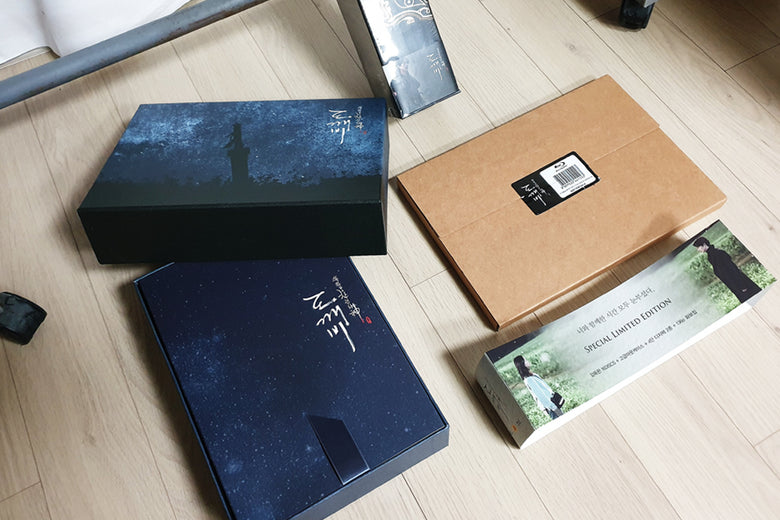 Used Goblin Kdrama Blu ray Box Set with Pre-order package & OST Full Package
