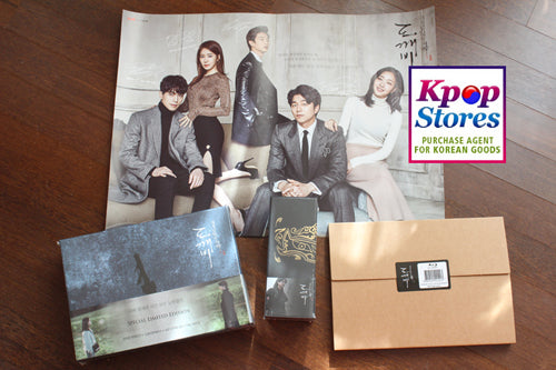 Korean Drama Blu ray : Goblin Director's Cut Blu-ray Complete Boxset