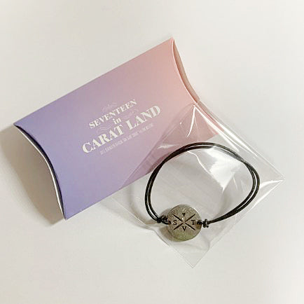 Used SEVENTEEN Official Carat Land Fan Meeting Bracelet