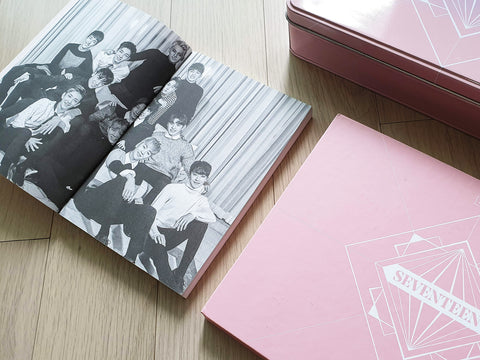 Used SEVENTEEN 2017 Official Season Greeting Photobook