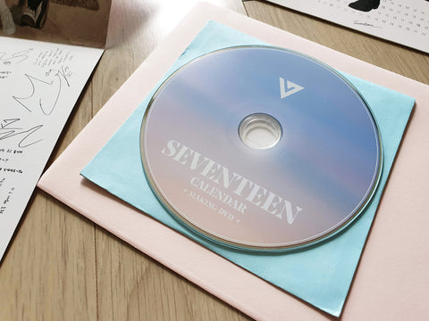 Used SEVENTEEN 2017 Official Season Greeting CD