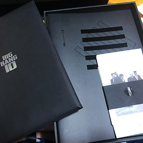 BigBang 10th Anniversary The Limited Edition 1,000 copies