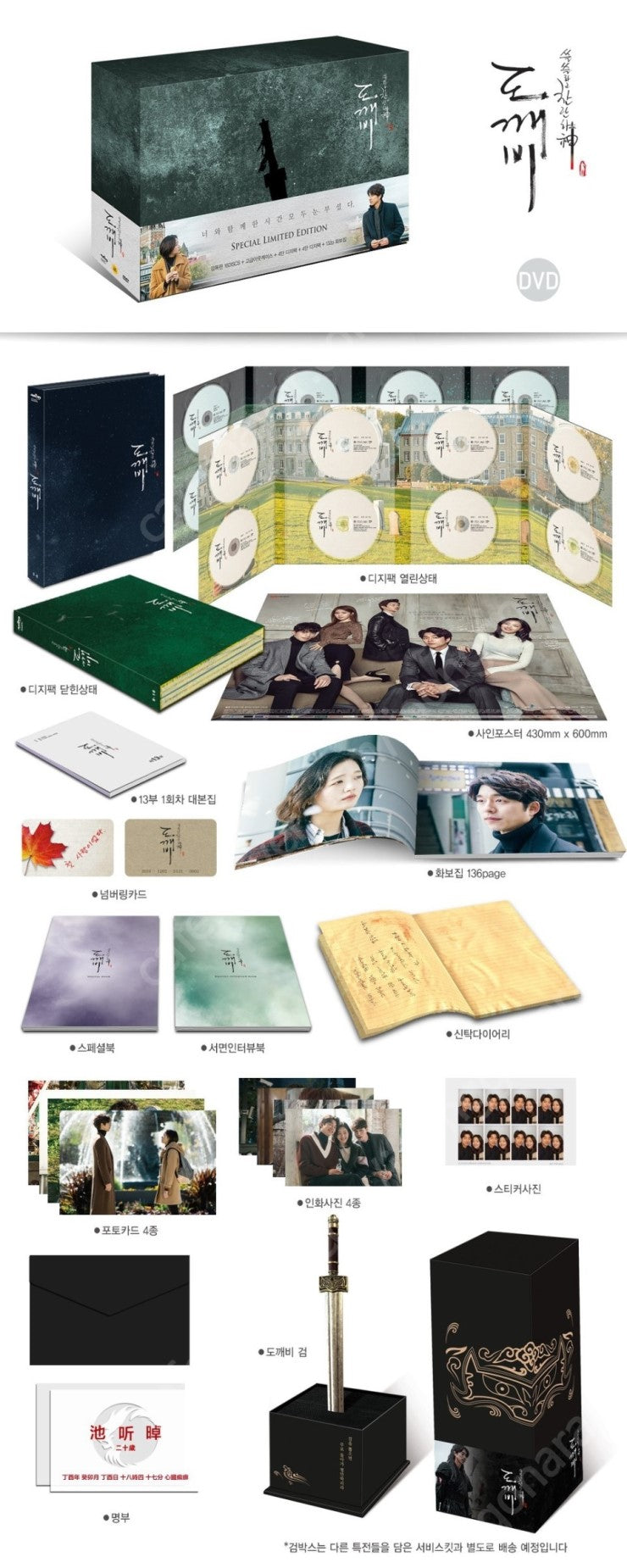Goblin Korean Drama Blu ray Box Set