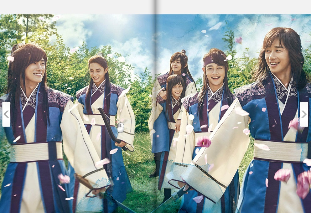 Hwarang The Poet Warrior Youth Photobook