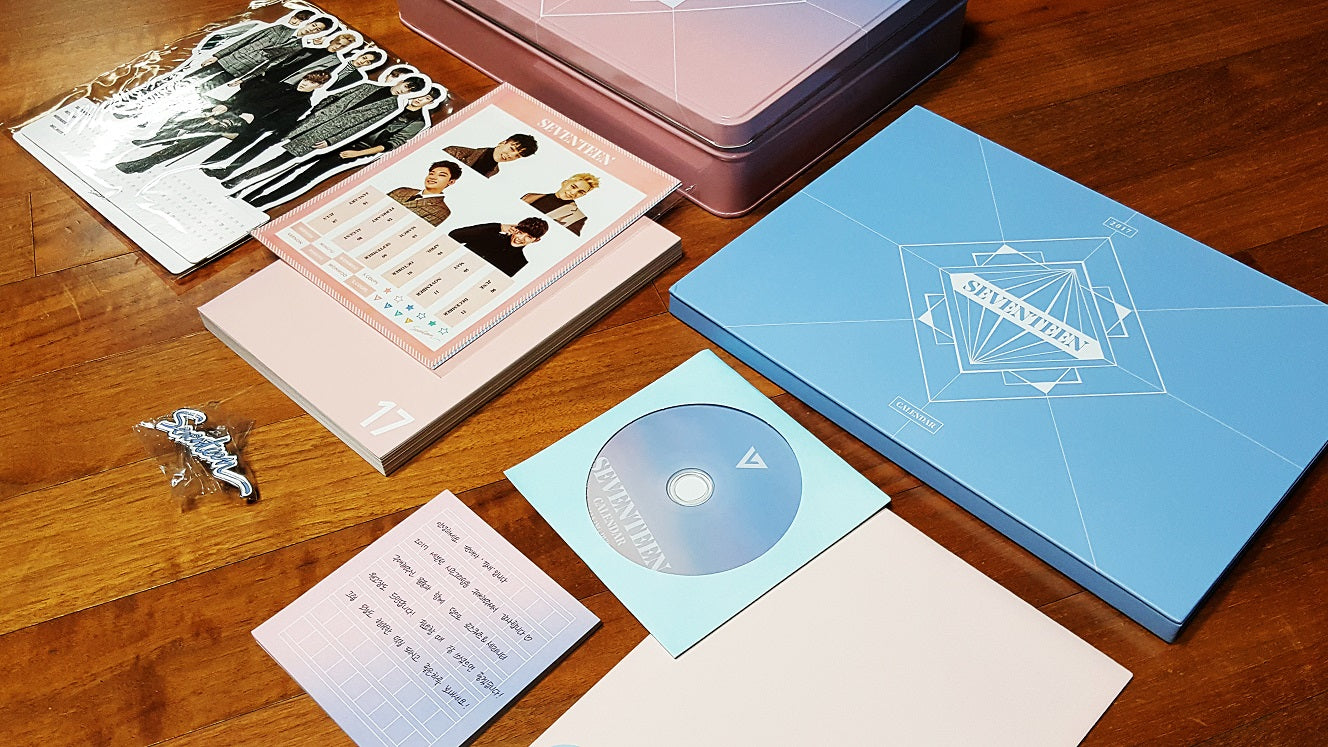 Used SEVENTEEN 2017 Season Greeting (A, B Type Random)