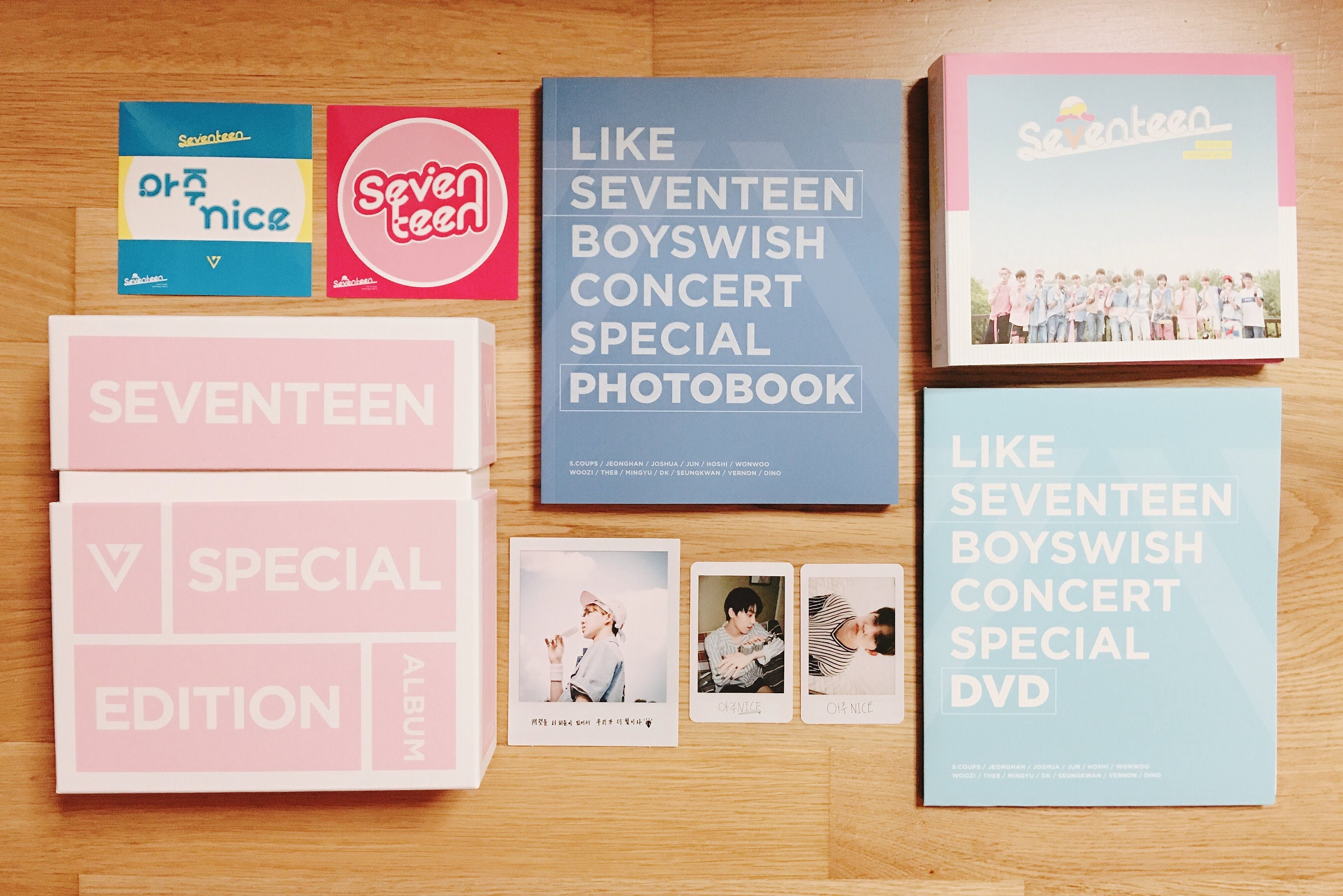 Used SEVENTEEN Love and Letter Repackage Album