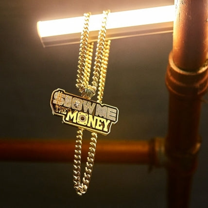 Show Me The Money Necklace Korean Variety Hip Hop Pendant Necklace - Kpopstores.Com
