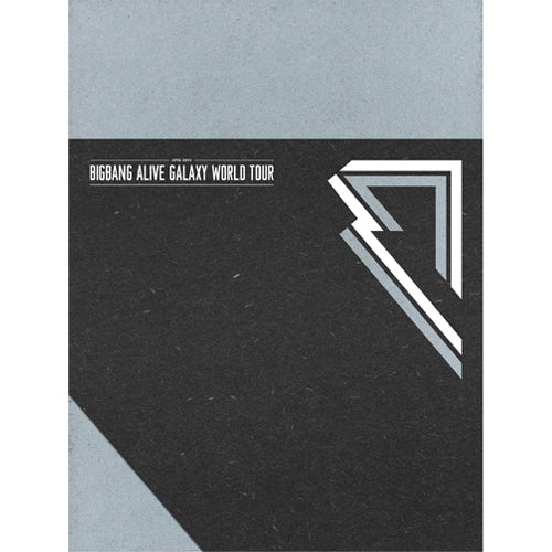 Used BIGBANG Alive Galaxy Tour 2012-2013 World Tour DVD 3 Disc