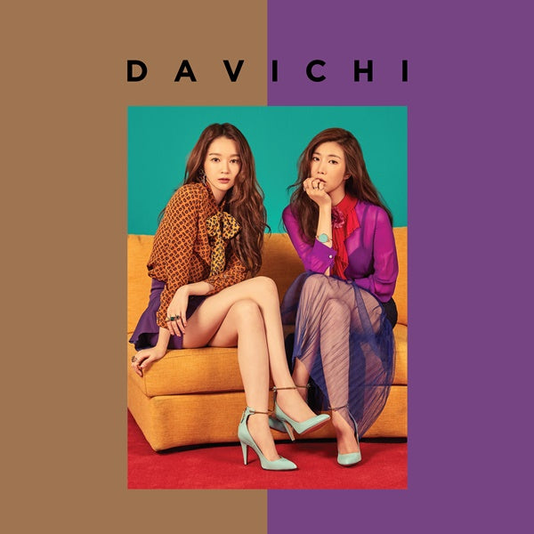 Used Davichi 50 X Half Mini Album