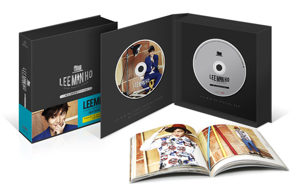 Used Lee Min Ho My Everything Special Album CD DVD Photobook