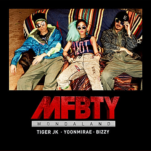 Used MFBTY WondaLand 1st Official Album