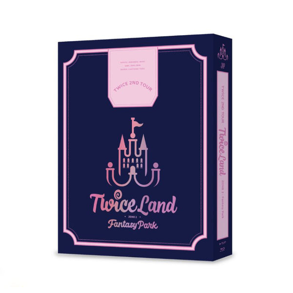 TWICE 2nd Tour TWICELAND ZONE 2 Fantasy Park Blu ray - Kpopstores.Com