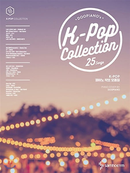 DOO PIANO Book Kpop Collections 25 Songs
