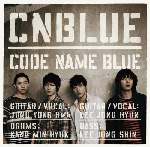Used CNBLUE Code Name Blue First Press Limited Edition