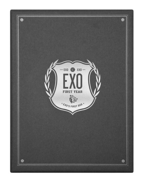 Used EXO First Box DVD 4 DVD Earphone Winder