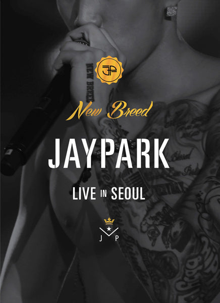 Used Jay Park Concert New Breed' Live in Seoul (2DVD + Photobook) (Korea Version)