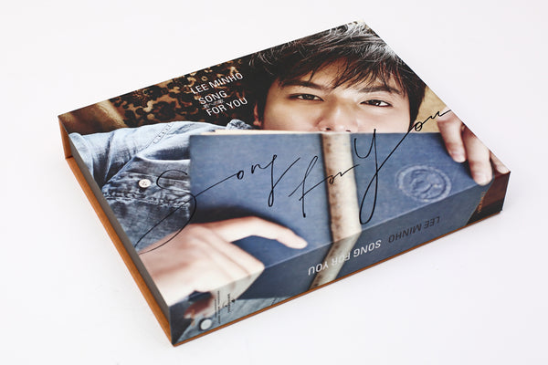 Used Lee Min Ho - Song For You (CD+DVD) - Kpopstores.Com
