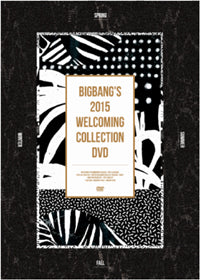 Used BIGBANG Welcoming Collection 2015 DVD Limited Edition