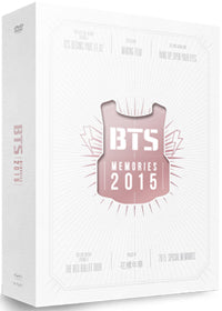 Used BTS Memories of 2015 DVD Photobook Korea Version - Kpopstores.Com