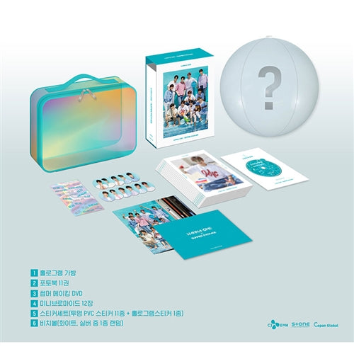 Used WANNA ONE X Summer Package Korea Version