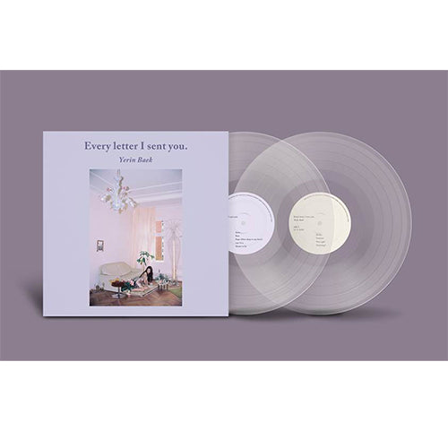 Baek Ye Rin Vinyl Every letter I sent you LP Normal Edition Pre-order