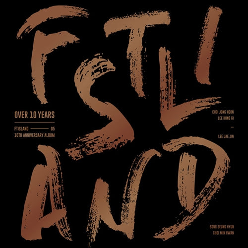 Used FTISLAND 10th Anniversary Album Over 10 Years