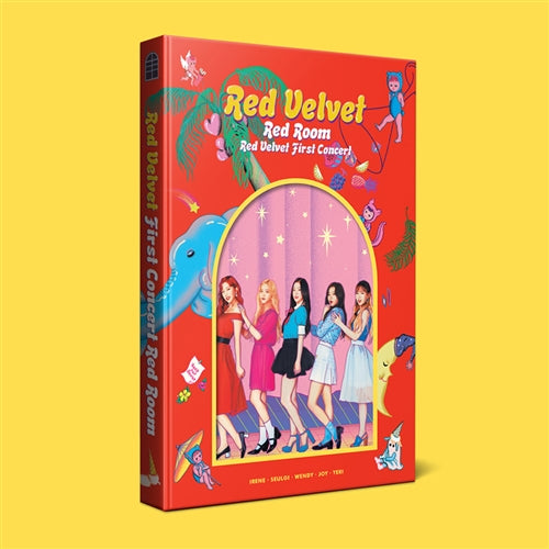 Used RED VELVET First Concert Photobook Red Room Concert Book - Kpopstores.Com