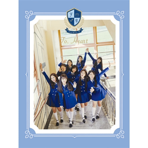 Used Fromis_9 To Heart Album Blue Version