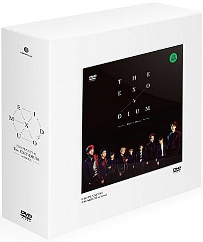 Used EXO PLANET 3 DVD The EXO'rDIUM in Seoul Live Korea Version