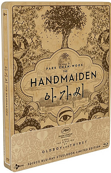 Used The Handmaiden Blu ray 3 Disc Steelbook 1/4 Slip Limited Edition - Kpopstores.Com