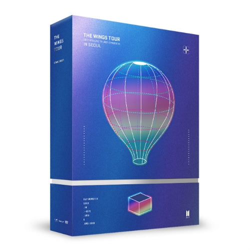 Used BTS 2017 Live Trilogy Episode iii The Wings Tour DVD