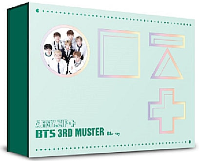 Used BTS 3rd Muster Army.Zip+ Blu ray Limited Edition Korea Version