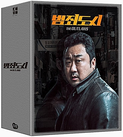 Used The Outlaws Korean Movie Blu ray Special Box Limited Edition