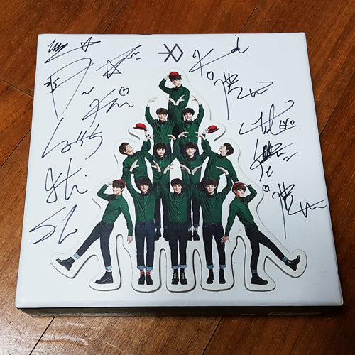 Signed EXO Winter Special Album Miracles in December - Kpopstores.Com