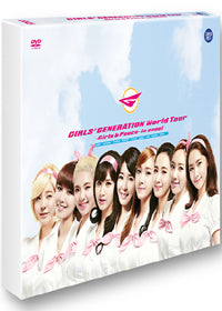 Used Girls Generation World Tour 2 Disc Photobook Korea Version