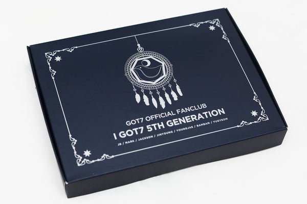GOT7 5th Generation Goods Fanclub Membership Kit