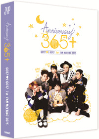 Used GOT7 1st Fan Meeting 365+ 2 Disc Photobook Korea Version