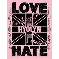 Used HYOLYN Love and Hate Korea Version - Kpopstores.Com