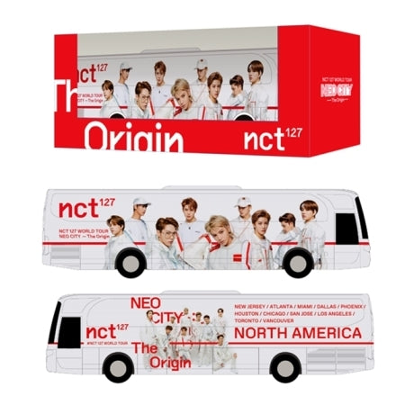 NCT 127 Miniature Bus Neo City Tour Bus - Kpopstores.Com