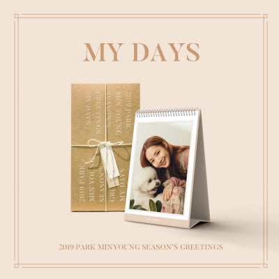 Park Min Young 2019 My Day  Season Greeting - Kpopstores.Com