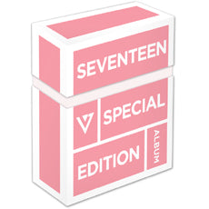 Used SEVENTEEN Love and Letter Repackage Album 2 DVD Limited Edition - Kpopstores.Com