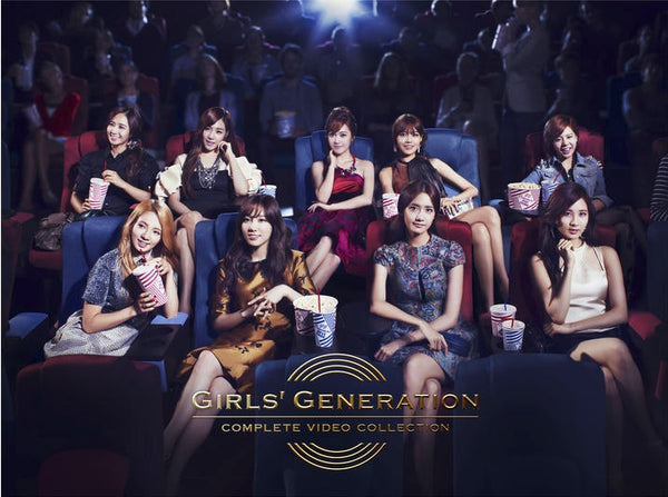 Used Girls' Generation Video Collection First Press Limited Edition