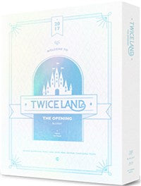 Used TWICE TWICELAND The Opening Concert Blu ray Korea Version - Kpopstores.Com