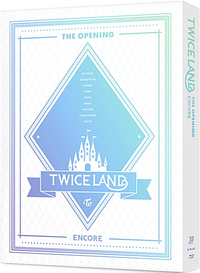 Used TWICE TWICELAND The Opening Encore Blu ray Korea Version - Kpopstores.Com