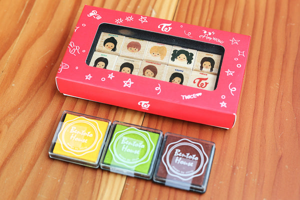 Twice Members Stamp Set JYP Entertainment Official Kpop Merch