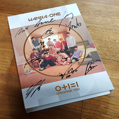 Signed WANNA ONE 0+1=1 I PROMISE YOU Day Version