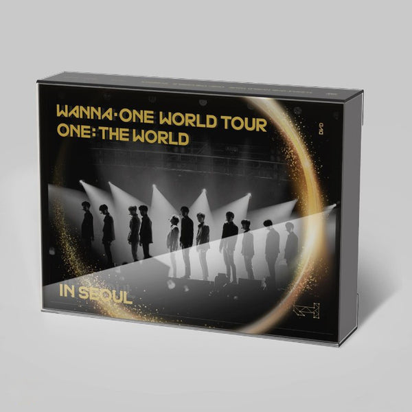 Used WANNA ONE World Tour 2018 The World in Seoul Blu ray