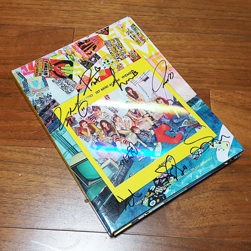 Signed Weki Meki Mini Album Vol. 1 WEME - Kpopstores.Com