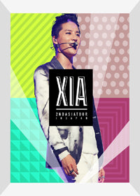Used XIA Incredible 2nd Asia Tour Concert Limited Edition